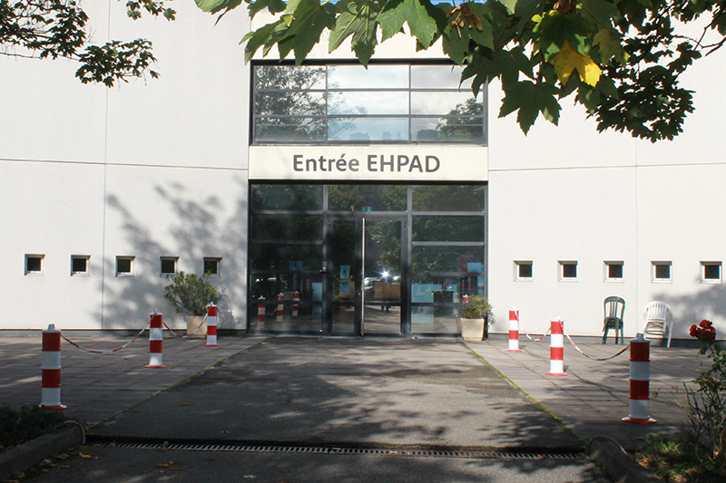Entree EHPAD accueil des buers